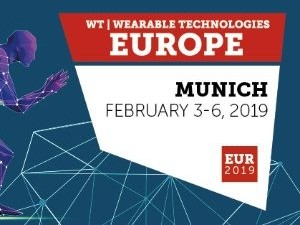 Wearable Technologies 2019 EUROPE