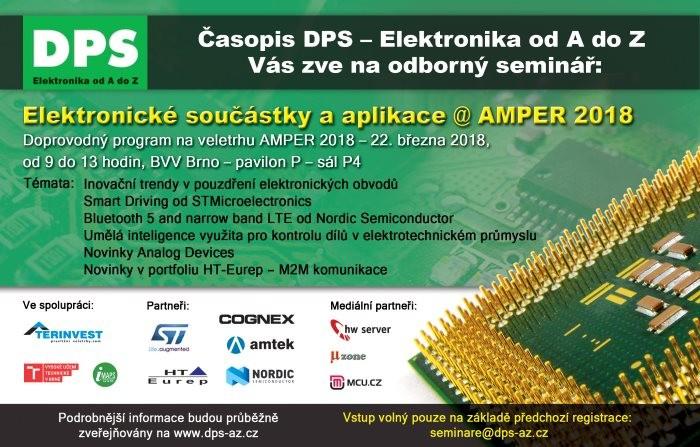 Elektronické součástky a aplikace 2018