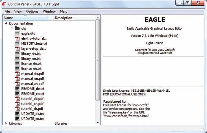 Novinky v programu EAGLE verze 7.3
